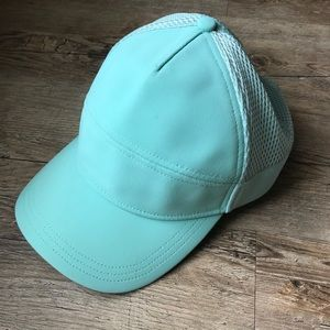 Lululemon Teal Baseball Running Hat
